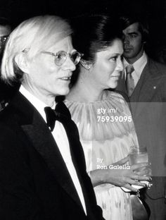 Andy Warhol and Imelda Marcos at The Met, 1976.