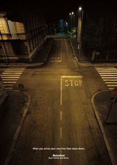 stopping distance drunk driving