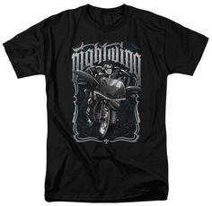 Batman Nightwing Biker T-shirt Black