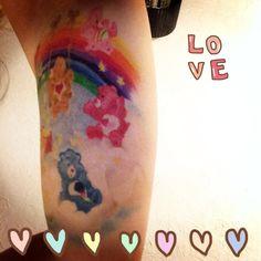 My care bear tattoo
