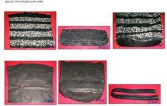 Bolso Texturado con lanas - 3