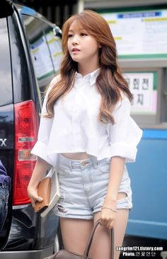 Girl's Day - Minah fashion