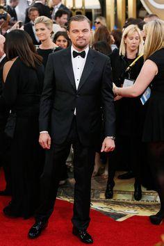 Leonardo DiCaprio-Globos de Oro 2014
