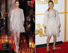 Sarah Jessica Parker In Elie Saab Couture - 'It's Only A Play' Broadway Opening Night Performance - Red Carpet Fashion Awards
