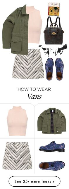 """""""Untitled #832"""" by rileyschae on Polyvore featuring WearAll, MANGO, Dr. Martens, Mulberry, Taschen and Vans"""