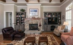 The Chesnee House Plan - Great Room