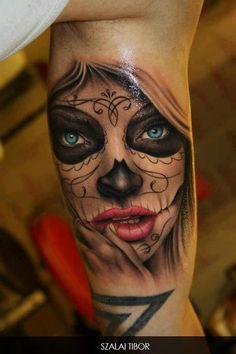 Tatuajes del día de los muertos - Batanga