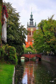 Gdansk Old Town, #Poland by jarek69 & evelyn, via Flickr