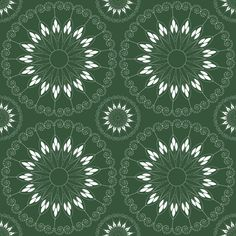 stylized flower pattern fabric by suziedesign on Spoonflower - custom fabric Pattern Fabric, Abstract Pattern, Custom Fabric, Flower Patterns, Spoonflower, Craft Projects, Fabrics, Colorful, Printed