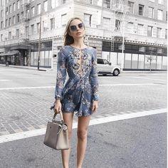 """Planet Blue on Instagram: """" @classisinternal in the @forloveandlemons sierra mini dress"""""""