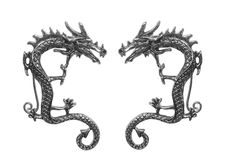 Elf Cuff Dragon - Silver