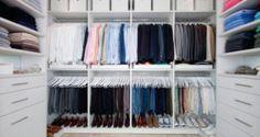 organizaçao do guarda-roupa guarda roupas arrumar closet CAPA