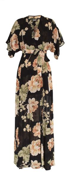 Winslow maxi flower dress == Would love to try a mismatched floral compilation of maxi dresses for bridesmaids