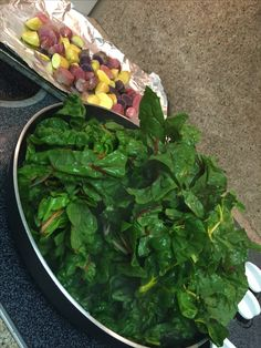 Simple and delicious rainbow chard! Sea salt and real butter ~ wilted!