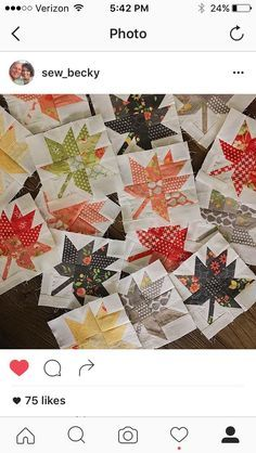Fall is just around the corner and I have designed the cutest little mini quilt to celebrate the fall season and use Sundrops which is in shops now. Maple Charm uses just one charm pack plus 3/4 ya…