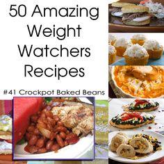 50 Amazing Weight Watchers Recipes - Crockpot Baked Beans
