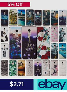 For Xiaomi Redmi 5 Plus Note 5 Pro Patterned Slim Soft Silicone Cover Case Cell Phone Cases, Iphone Cases, Slim, Note 5, Used Iphone, Samsung Galaxy S9, Cover, Cell Phone Accessories, Phones