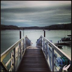 Normandy Pontoon looking calm before the craziness of summer! #salcombe