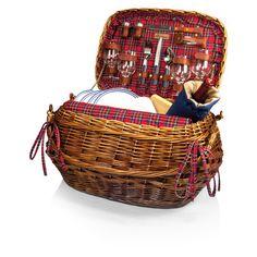 Highlander Picnic Basket-I want!!