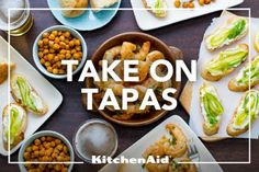 Staying to think of bachelorette party ideas in keeping with the wedding theme. Who doesn't love tapas?!