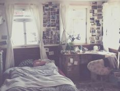 Indie hipster bedroom