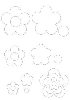Molde flores MoreFriendly Felt: Molde flowers template for tiara roseFriends of the Felt: template flowersCould be appliqué or used for paper flowersto ] Great to own a Ray-Ban sunglasses as summer gift.Fashion and Vintage styles. Felt Flowers Patterns, Felt Patterns, Craft Patterns, Flower Crafts, Diy Flowers, Fabric Flowers, Paper Flowers, Felt Diy, Felt Crafts