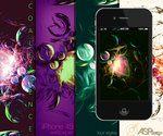 Coalescence iPhone Wallpaper