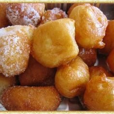 Little poppable treats of hot fried dough balls smothered in cinnamon sugar. Careful, once you pop, you can't stop! Fried Dough Balls Recipe, Fried Dough Recipes, Fried Bread Recipe, Bread Dough Recipe, Donut Recipes, Dessert Recipes, Cooking Recipes, Xmas Desserts, Cooking Stuff