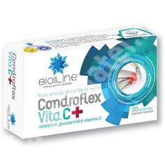 Condroflex Vita C, 30 tablete, Helcor : Farmacia Tei 30, Personal Care, Pharmacy