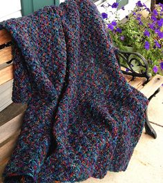 HAND CROCHETED Afghan Throw in Muted Colonial Colors. $44.00, via Etsy.