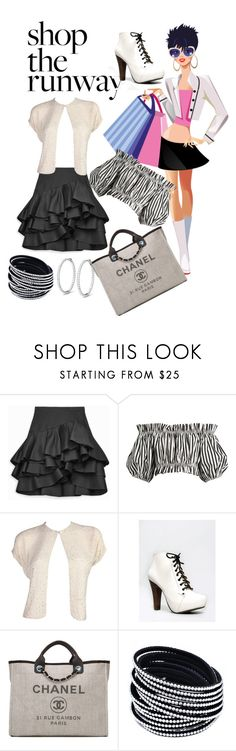 """""""Shopping Addict"""" by shirley-de-gannes ❤ liked on Polyvore featuring Dolce&Gabbana, Qupid and Chanel"""