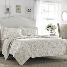 Found it at Joss & Main - Riley Reversible Quilt Set by Laura Ashley