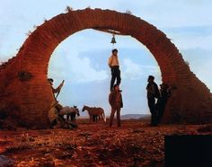 Once Upon a Time in the West directed by Sergio Leone