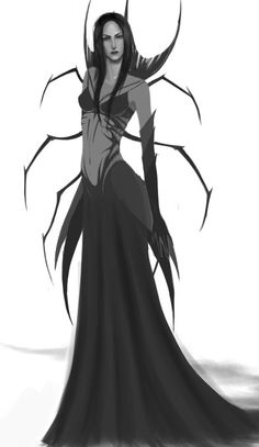Ungoliant by velveteen_knight