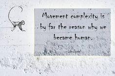 Ido Portal Quote Movement Complexity