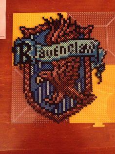 Ravenclaw Harry Potter perler bead sprite