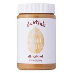 Organic Peanut Butter, Peanut Butter Brands, Justin's Peanut Butter, Almond Butter, Grocery Store, Diet Grocery Lists, Healthy Eats, Healthy Recipes, Healthy Snacks