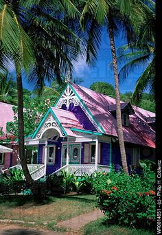 Mustique, Grenadine Islands in the Caribbean #islandsinthecaribbean