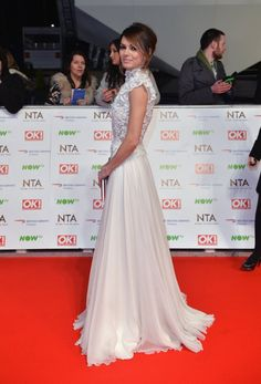 Pin for Later: All the Must-See Photos From the National TV Awards Red Carpet Kara Tointon