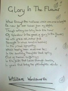 love in the works of william wordsworth William wordsworth - biography and works william wordsworth, english poet and worshipper of nature and simplicity, was born in the lake district.