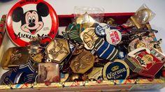 Mickey Mouse Nixon NASA Olympics Military Boy Scout Hard Rock Cafe 60+ Piece LOT