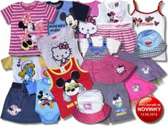 Detské oblečenie Disney, Hello Kitty.. - webshop