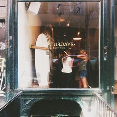 Saturday morning at Saturdays Surfer. // photo by Bonnie Tsang
