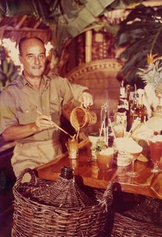 The one and only, Donn the Beachcomber. #tiki legend.