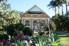 Casa Livino Neitzel, localizada na Estrada do Quiriri. #joinville