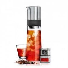 Karafa na výrobu ľadového čaju TEA-JAY® The Rock, Maker, Red Dots, Designer, Objects, Stuffed Peppers, Tea, Accessories, Iced Tea
