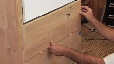 Learn about attaching drawer fronts that are perfectly aligned and will look great.
