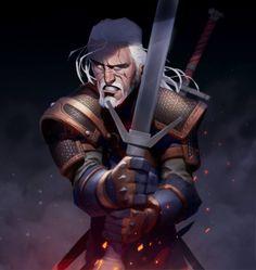 Geralt by Max Grecke