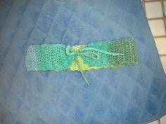 Crochet Green Headband Feb. 2016