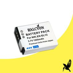 Halcyon 1500 mAH Lithium Ion Replacement Battery for Nikon EN-EL12 and Nikon Coolpix AW100, AW100s, P300, S70, S630, S640, S1000pj, S1100pj, S1200pj, S6000, S6100, S6150, S6200, S8000, S8100, S8200, S9100 Reviews - http://slrscameras.everythingreviews.net/10175/halcyon-1500-mah-lithium-ion-replacement-battery-for-nikon-en-el12-and-nikon-coolpix-aw100-aw100s-p300-s70-s630-s640-s1000pj-s1100pj-s1200pj-s6000-s6100-s6150-s6200-s8000-s8100-s8200-s.html